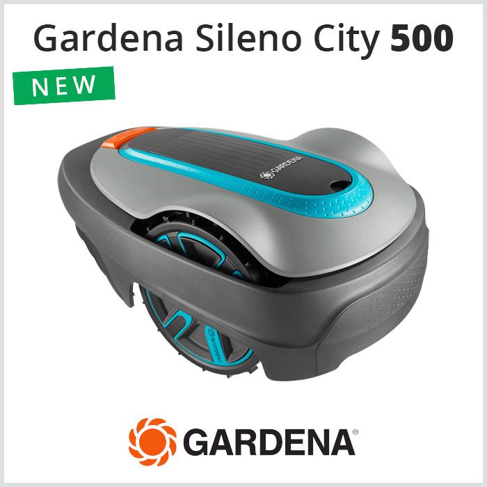 Robot Tagliaerba Gardena Sileno City 500