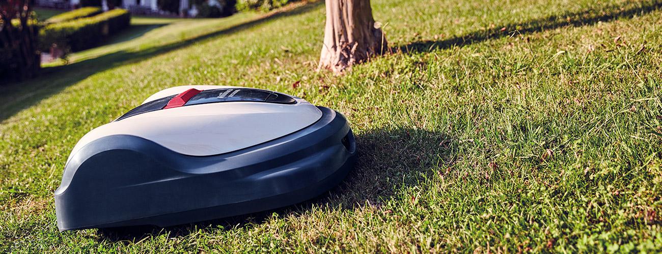 robot tagliaerba pendenze e passaggi stretti